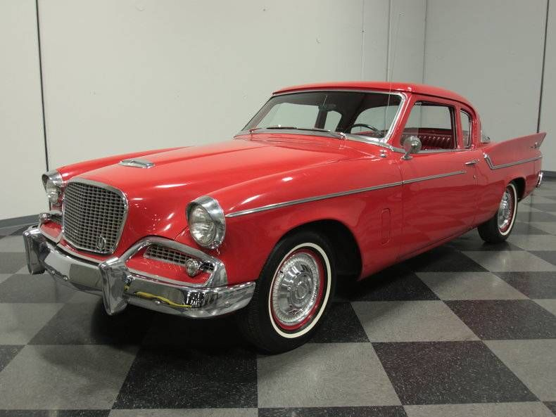 1959 Studebaker Silver Hawk Coupe Studebaker Classic Cars Cars For Sale