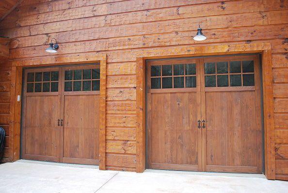 garage door installation by metro garage door wood carriage doors and steel, Wood Carriage Door
