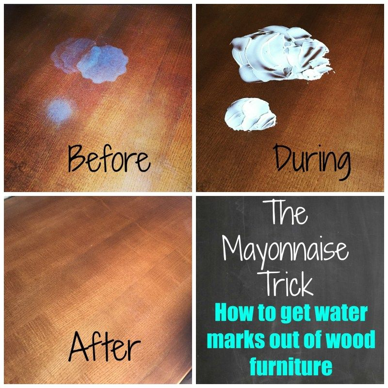 11 S To Get Stains Out Remove Water Stain On Wood Furniture - How To Remove Water Spots Off Wood Table