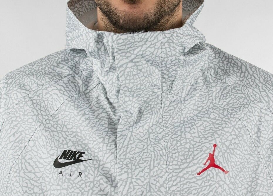 9a7b0611690d Nike Air Jordan Wings 1988 Anorak Jacket White Elephant Print AJ0428-100 Sz  2XL  fashion  clothing  shoes  accessories  mensclothing  activewear (ebay  link)