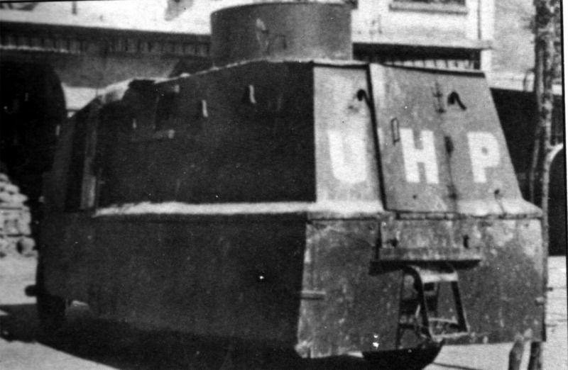 Spain - 1936-39. - GC - Blindado Echevarria, 2. Serie