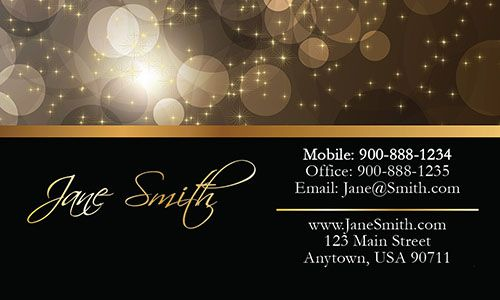 Modern Wedding Business Card Design From Wwwprintifycardscom - Wedding business card template