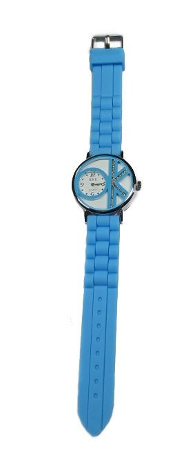 Dames horloges OK Turquoise www.beadscreations.nl