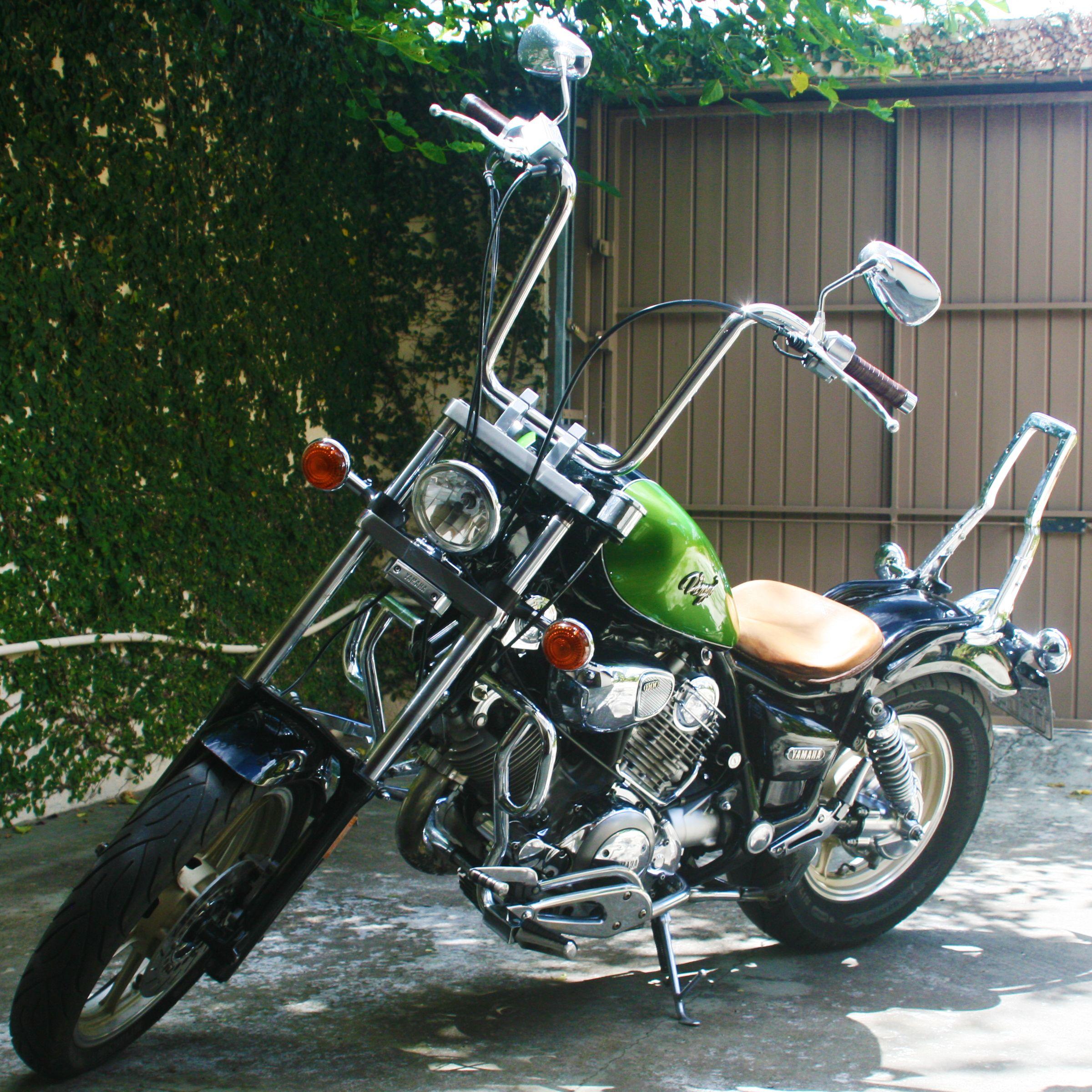 Virago 1100 1995 Bobber Ape Hanger 14 ø 1 14 Motorcycles Ape