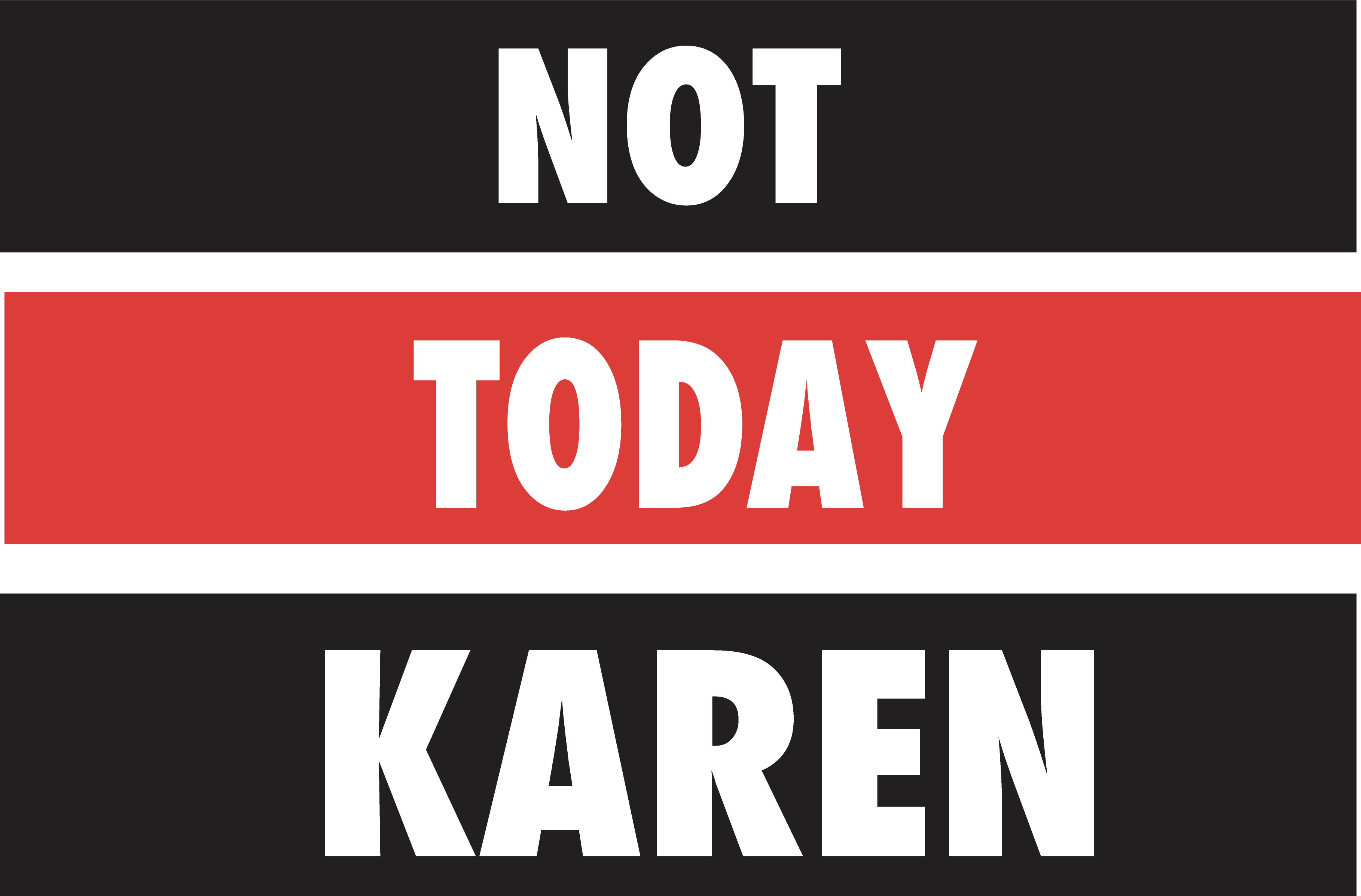 Download Not today karen SVG in 2020   Silhouette machine, I wish ...