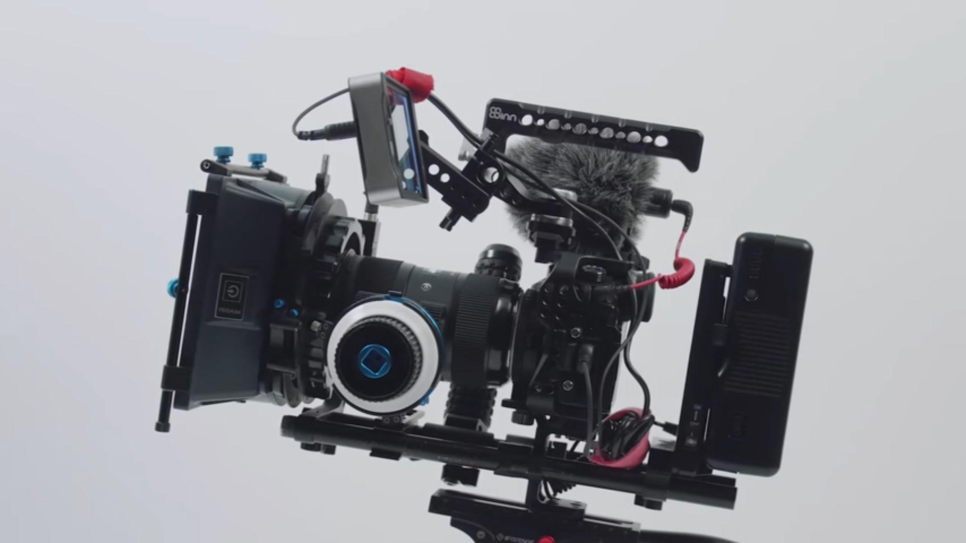 My Custom Gh5 Rig 8sinn Cage Review Camera Rig Filmmaking Gear Video Camera