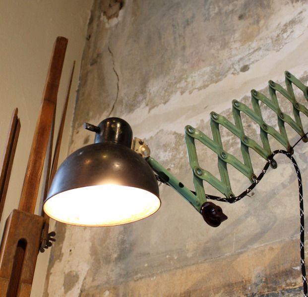 kaiser idell bauhaus scherenlampe von stattfein auf stattfein das ideenkaufhaus. Black Bedroom Furniture Sets. Home Design Ideas