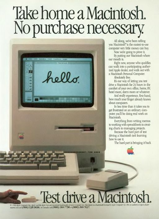 STEVE JOBS VINTAGE AD 1979 APPLE Computer How To Buy A Personal Computer