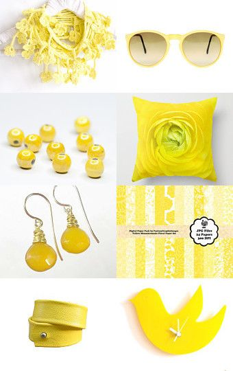 Yellow by Cynthia Sillitoe on Etsy--Pinned with TreasuryPin.com