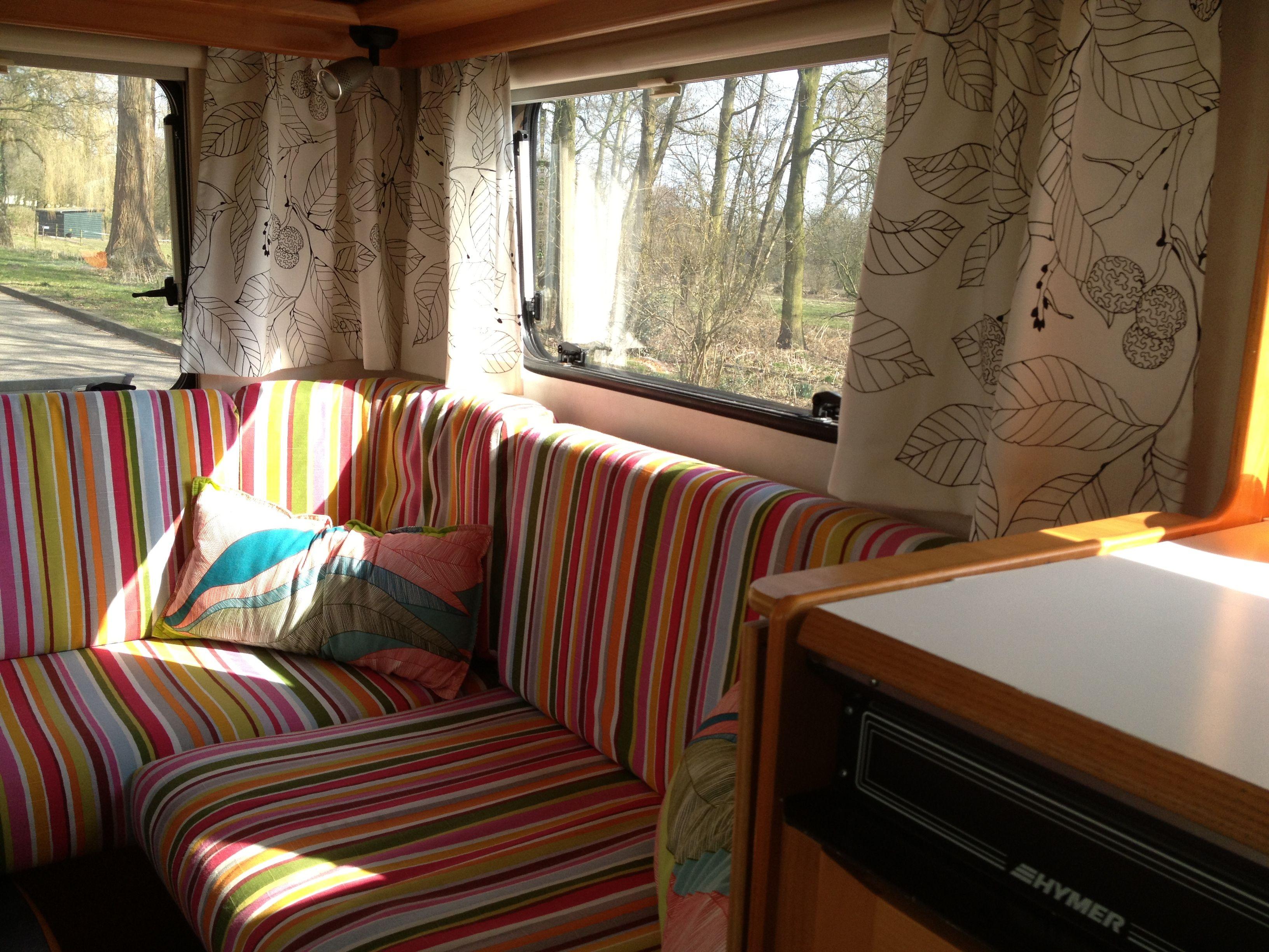 Kussens Caravan Bekleden : How to bank bekleden voor dummies u caravanity happy campers