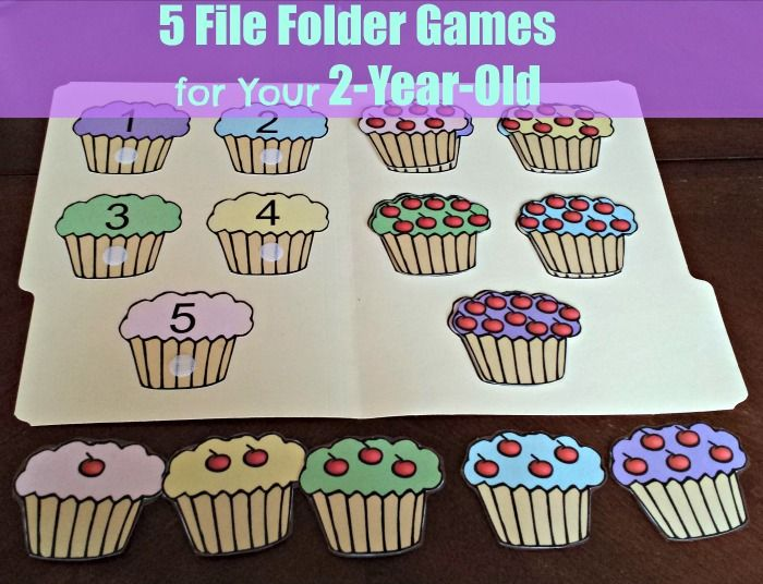 5 file folder games for your 2 year old - Color Games For 2 Year Olds
