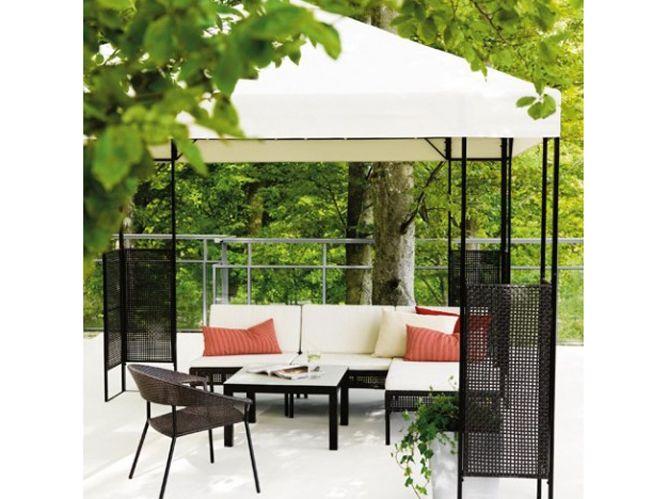 Salon de jardin pas cher notre s lection de meubles canons pour le jardin elle d coration for Meubles pour jardins et terrasses