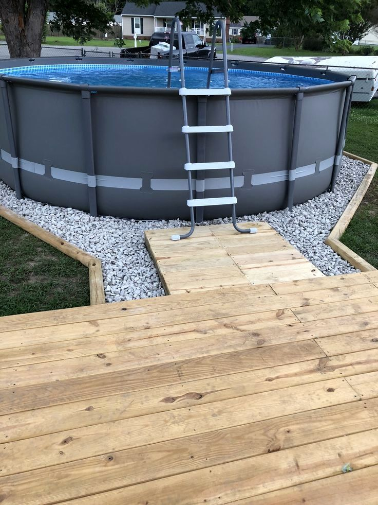 100 Above Ground Pool Landscaping Ideas Above Ground Pool Landscaping Pool Landscaping Above Ground Pool