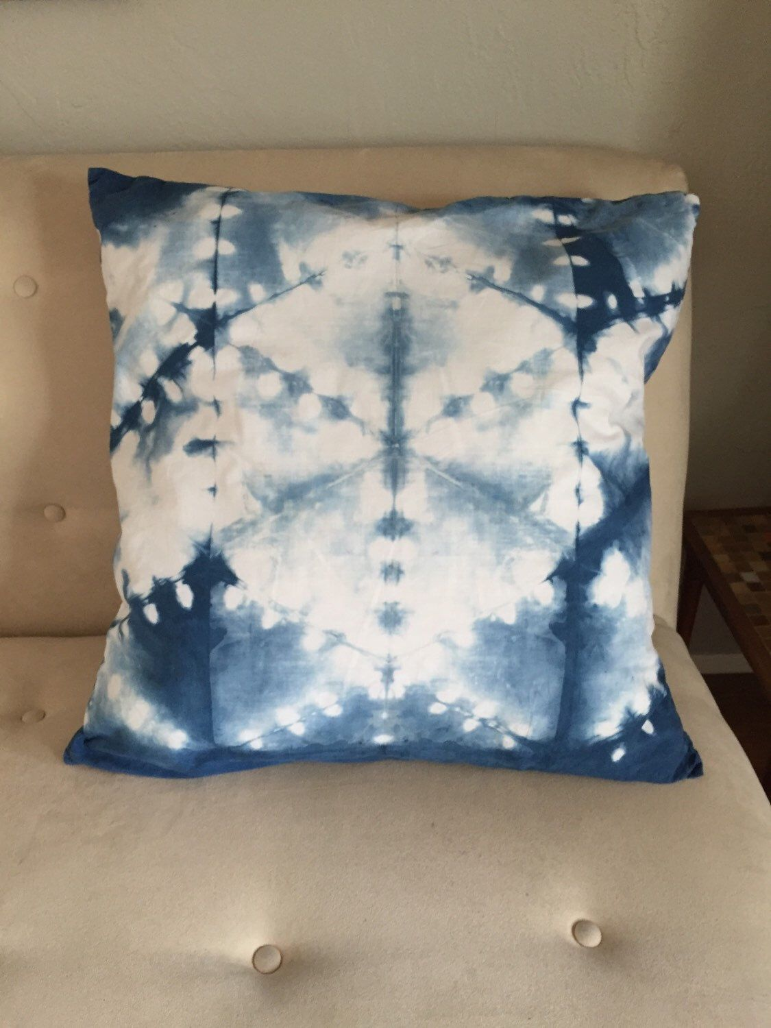 A personal favorite from my Etsy shop https://www.etsy.com/listing/254667329/indigo-tie-dye-pillowcase-hand-dyed