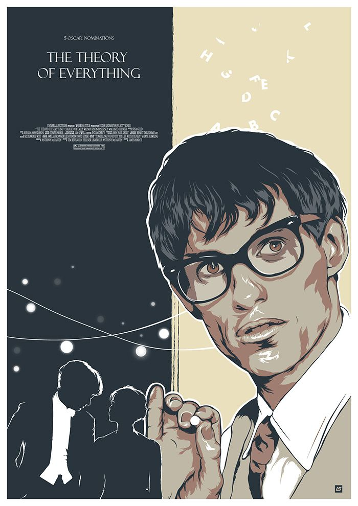 The Theory Of Everything By Liza Shumskaya Movie Posters Design Alternative Movie Posters Movie Prints