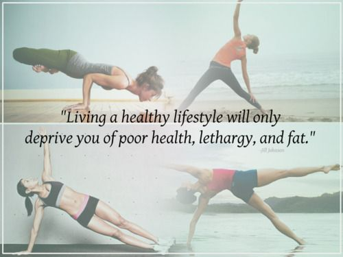 Living a healthy lifestyle will only deprive you of poor health, lethargy and fat.  Thats deprivation I can live with!