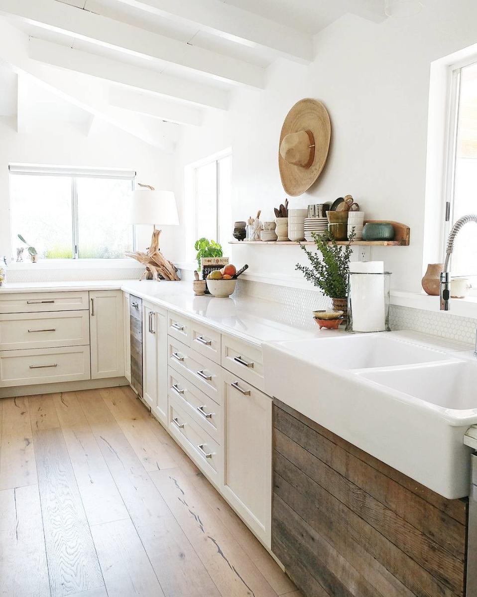 Rustic Modern Farmhouse Kitchen Design Ideas Kitchen