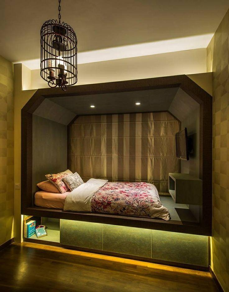 lit plateforme pour ado chambre olivier bed platform. Black Bedroom Furniture Sets. Home Design Ideas