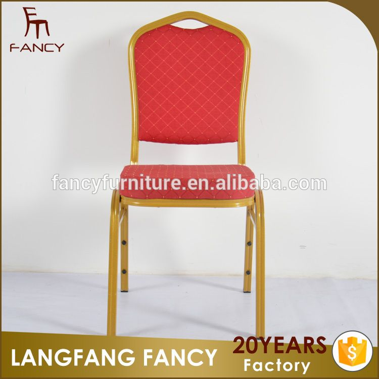 Modern Stacking Aluminum Chair Banquet For Wedding Used Hotel