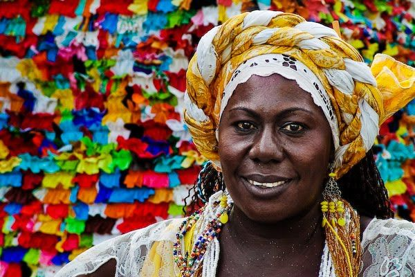 Caribbean People: Salvador De Bahia, Brasil. Candomble