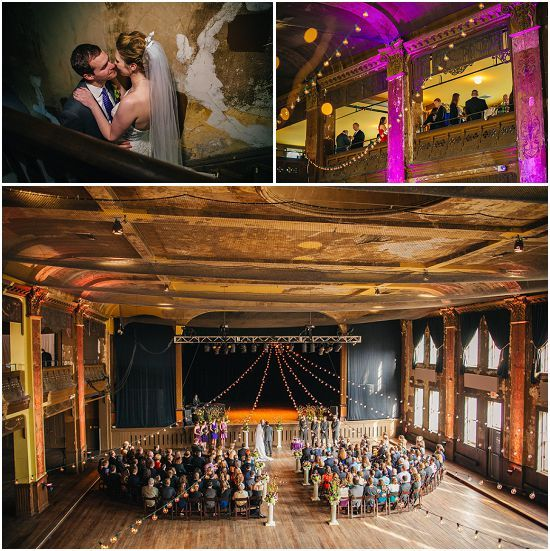 Turner Hall Is One Of Milwaukee S Hottest Wedding Venues Here Setup Option For A Ballroom Ceremony Photo By Andy Stenz