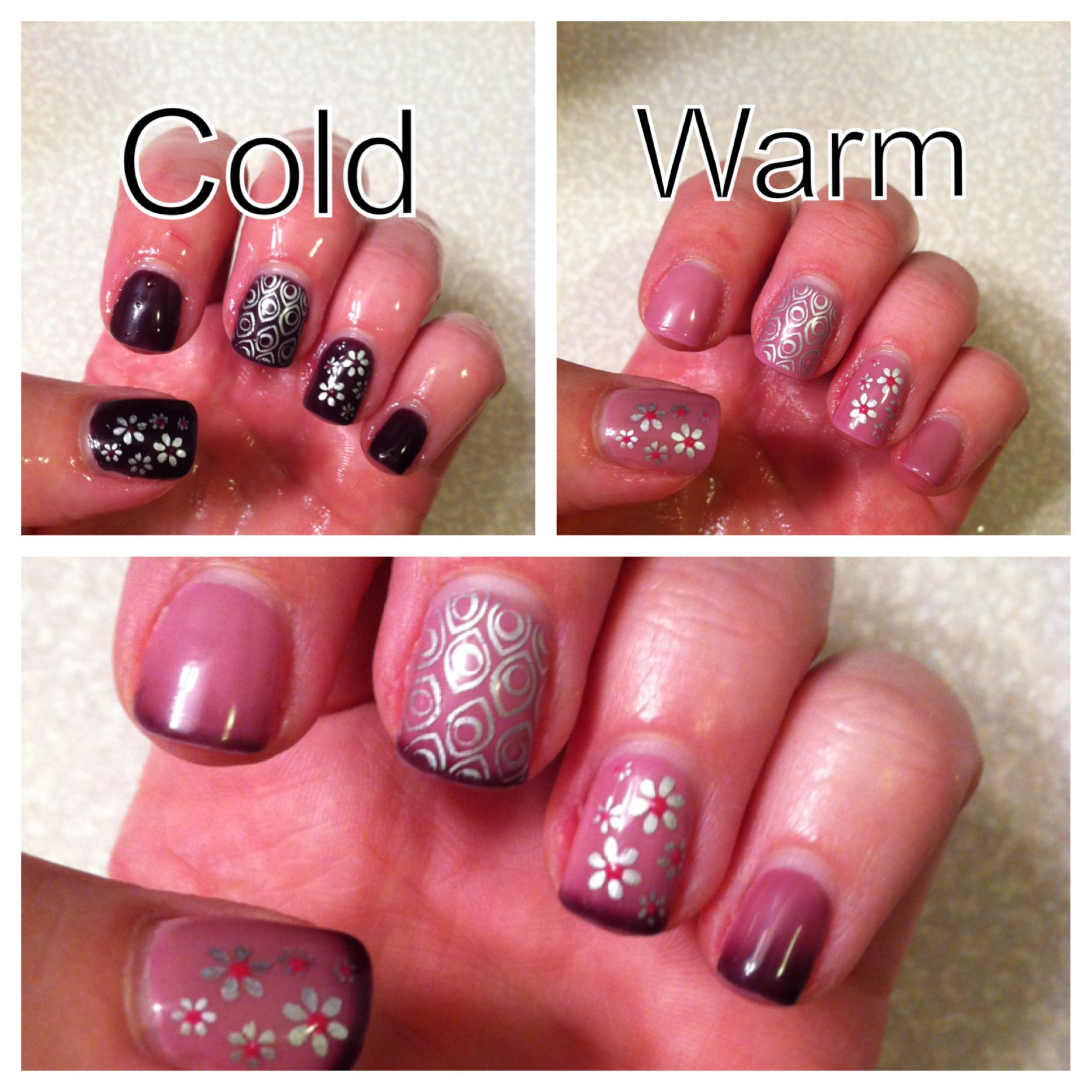 Color changing polish! Orly gel fx-Shade Shifter over Gelish-It\'s a ...