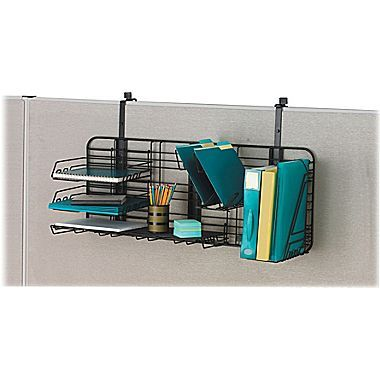 Safco Gridworks Organizer Compact Charcoal 38 1 8 W X 15 D X