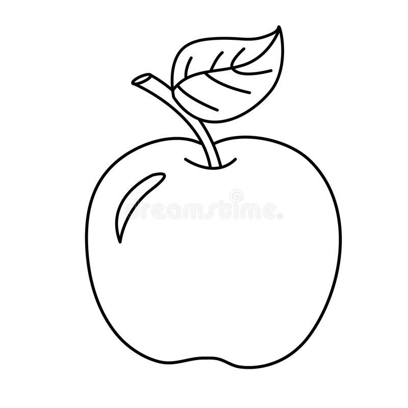 Coloring Page Outline Of Cartoon Apple Fruits Coloring Book For Kids Sponsored Ad Affiliate Page Coloring Books Kids Coloring Books Coloring Pages