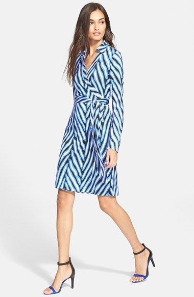 Diane von Furstenberg 'New Jeanne Two' Jersey Wrap Dress available at #Nordstrom