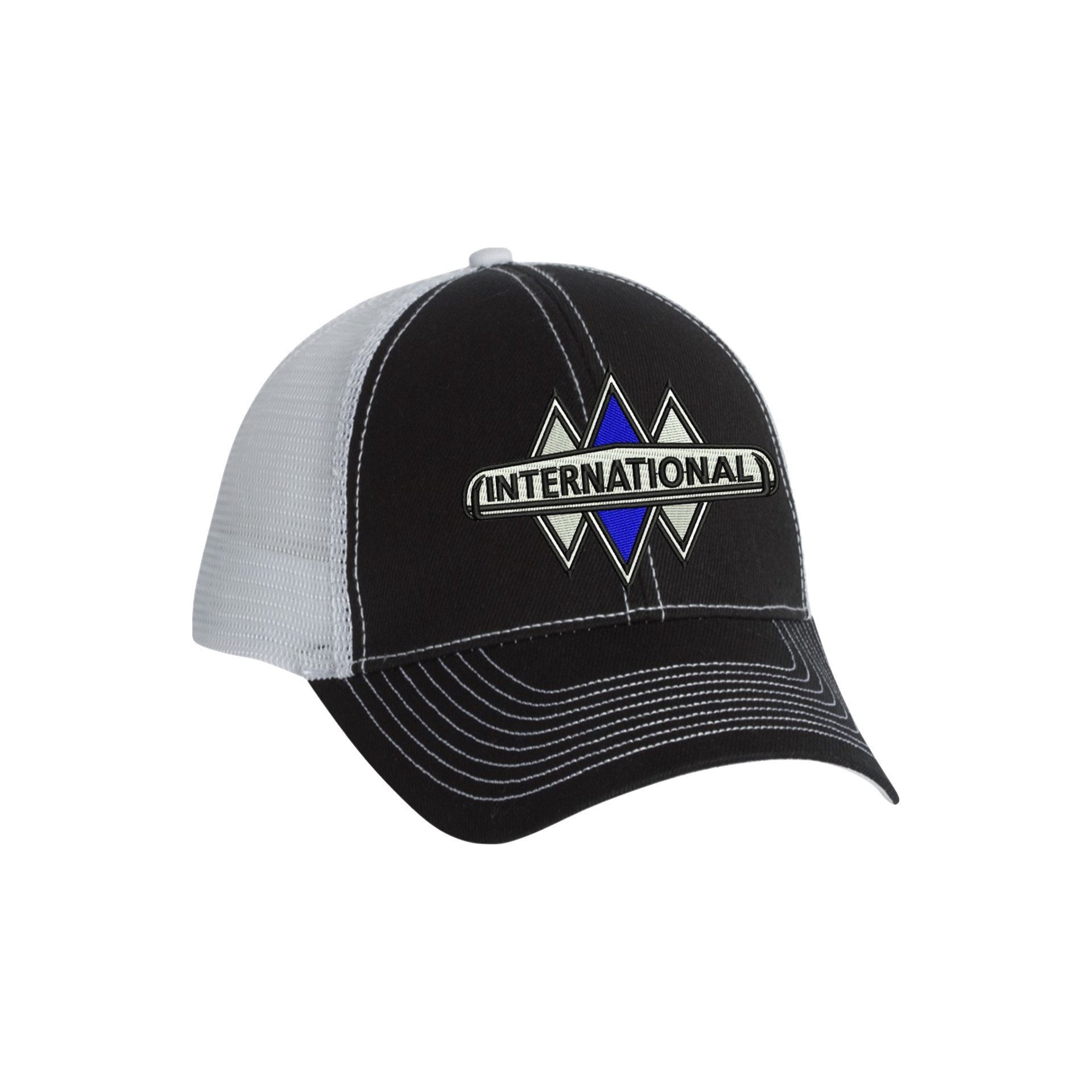 Triple Diamond Fitted Cap Hats International Truck Fitted Caps