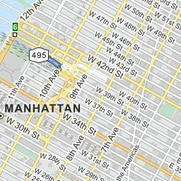 313 W 55th St New York United States Directions Location and