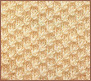 modele tricot nid d abeille