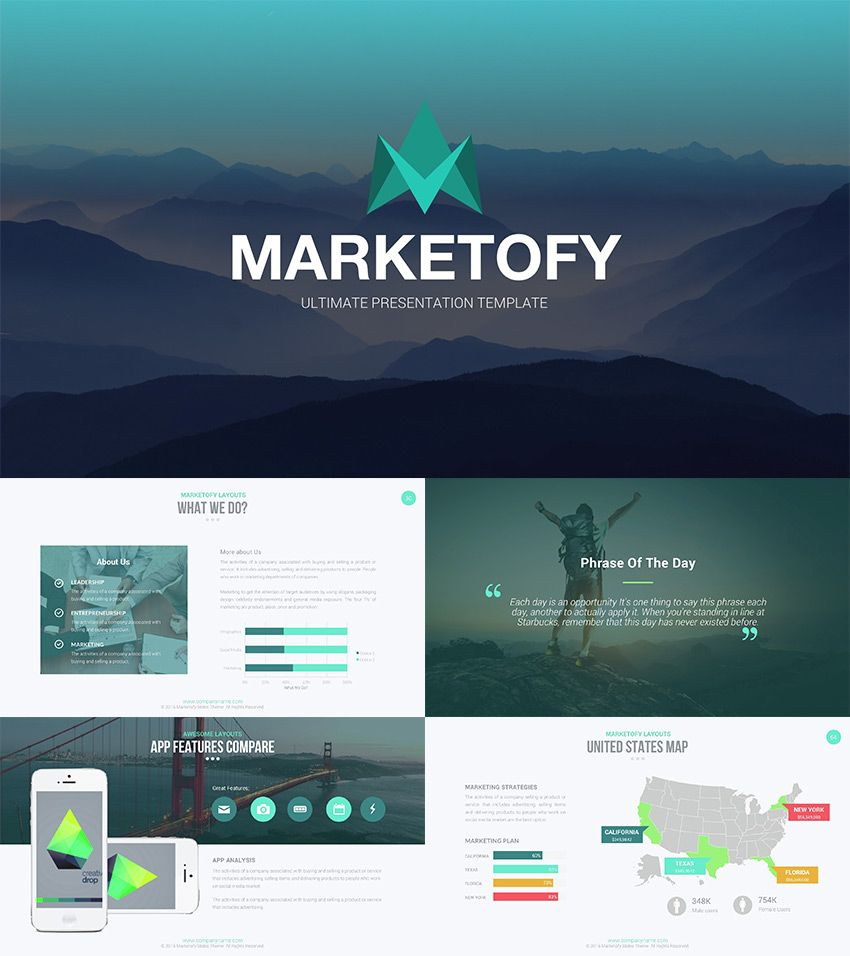 marketofy best google slides theme design 2016 | talon, Powerpoint templates