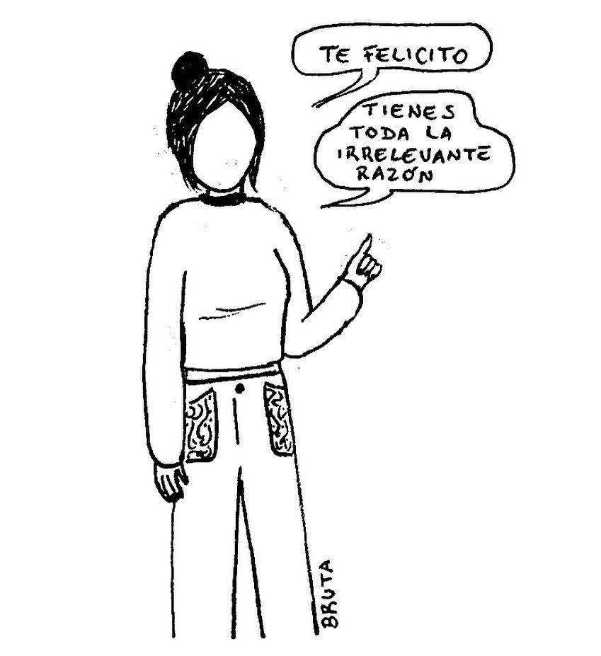 Relaciones de amor definidas despiadadamente por la ilustradora chilena Bruta