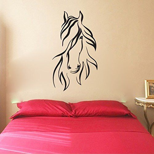 Horse Vinyl Wall Decal Sticker Graphic Wall Decal Sticker Wall - Vinyl wall decals application instructions