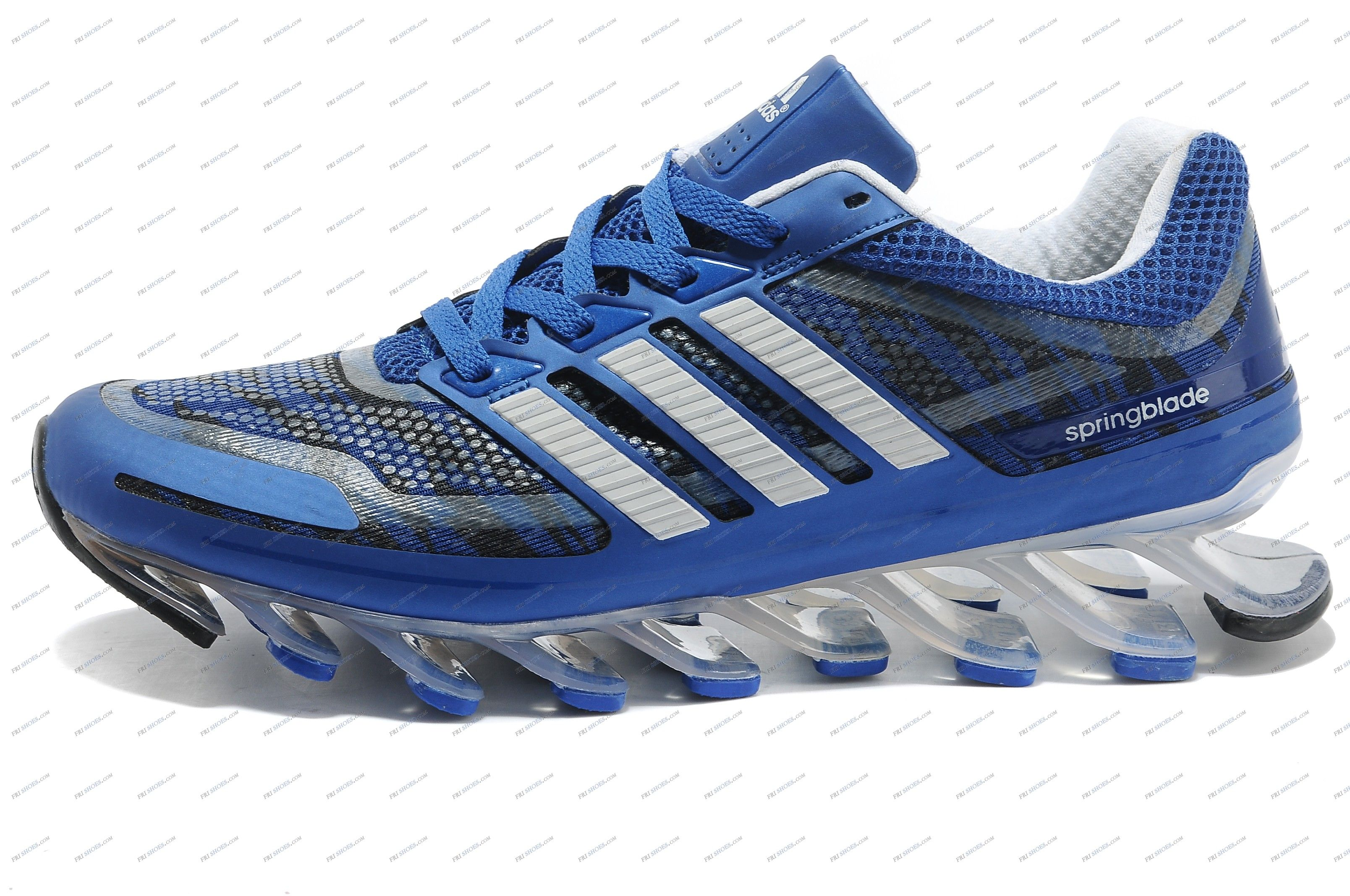 Adidas Springblade Camo Blue White Men\u0027s Running shoes outlet adidas