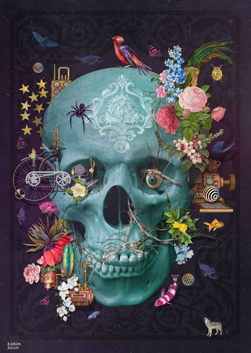 Pin By Daniela Calzada On Calavera Skull Artwork Sugar Skull
