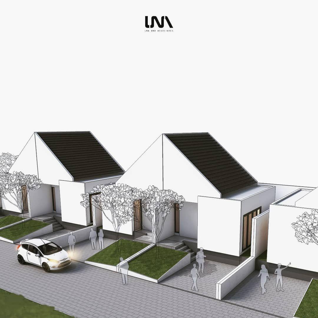 Image May Contain Sky Desain Eksterior Desain Rumah Desain Arsitektur
