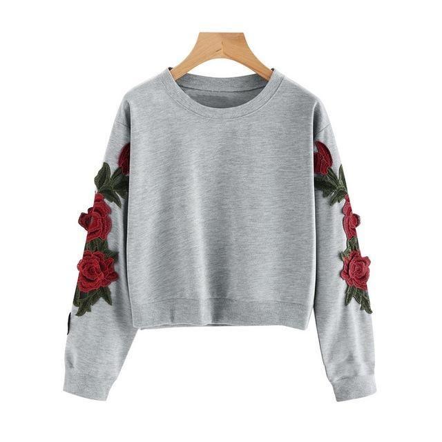 0741deb9df4 Sweatshirts Female Hoodie Pink   Gray Plus Size Sweatshirt Hoodies Women  Longmodkily