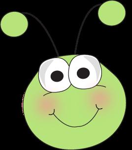 bug face cartoon grasshopper