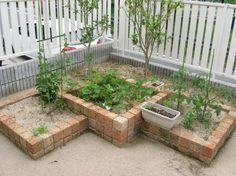 家庭菜園をお庭に 神戸 神戸 三田 エクステリア 外構 ガーデニングの設計 施工 ガーデンオーヴ ガーデンベッド 庭 庭園の小道