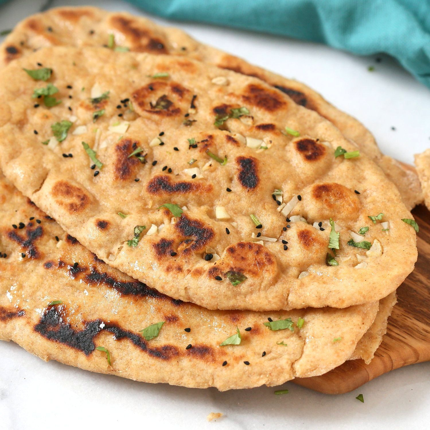 Whole Wheat Naan Bread Soft Amazing 100 Whole Grain Naan