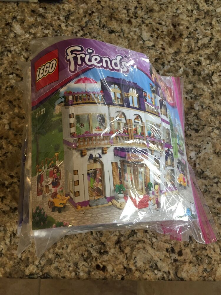Lego Friends Heartlake Grand Hotel 41101 95 99 Complete With