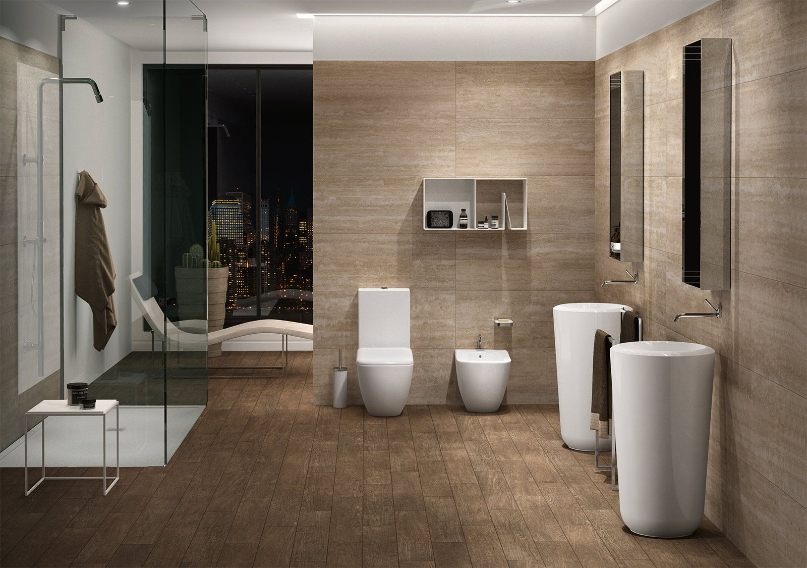 colori bagni moderni. dipingere le pareti del bagno piastrelle ... - Bagni Neri Moderni
