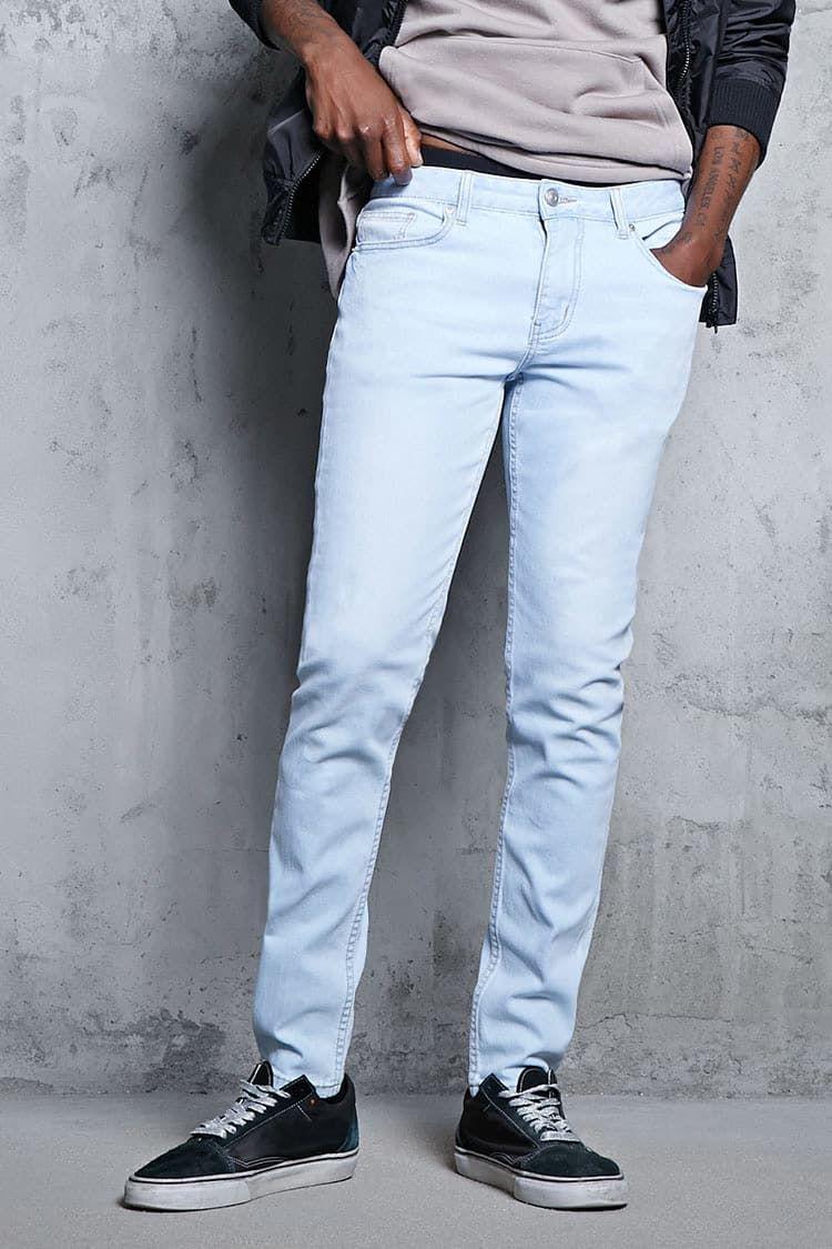 Skinny Jeans Hombre Pantalones Bermudas Jeans 2000113237 Forever 21 Eu Espanol Skinny Fit Jeans Latest Trends Skinny Fit