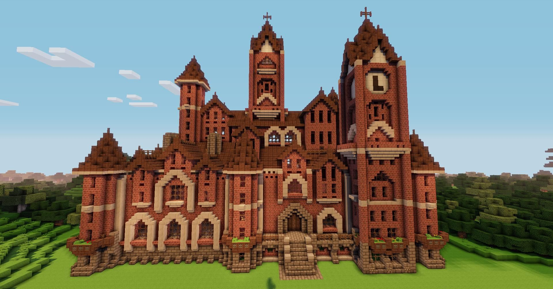 Victorian Foyer University : Victorian mansion creative mode minecraft discussion