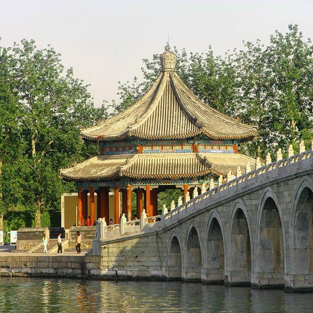 Summer Palace \ - chinesischer garten brucke