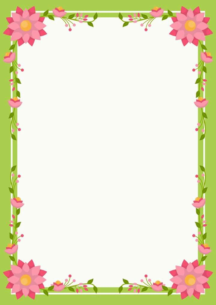 Never Green 1 | Page borders design, Colorful borders ...