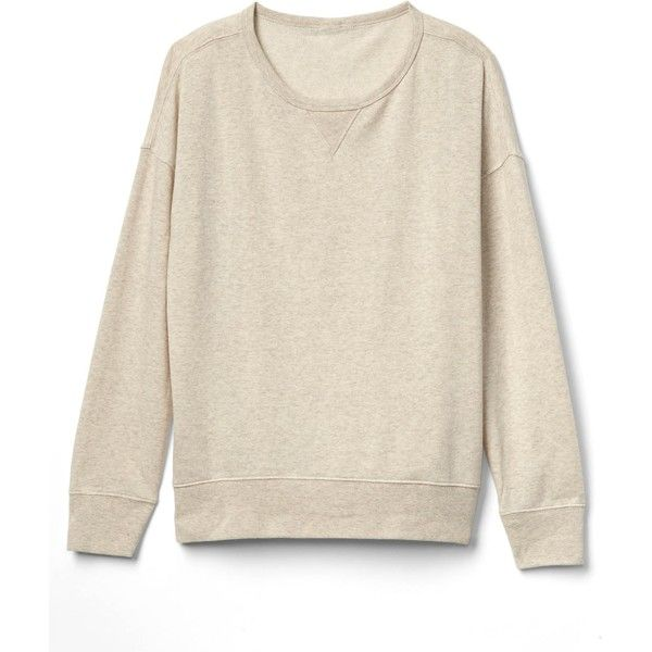 Slouchy pullover sweatshirt (735 RUB) ❤ liked on Polyvore ...