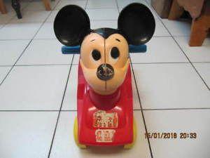 Classic Walt Disney Productions Mickey Mouse Club Car 640 x 480